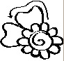 how to draw a simple henna flower
