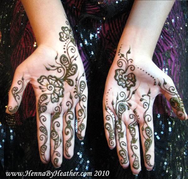 arabic henna
