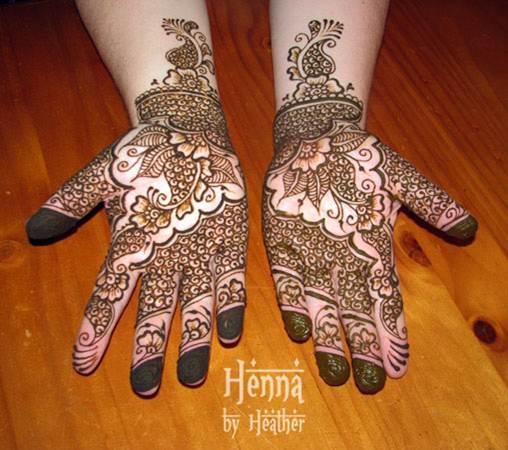 indo-arabic henna