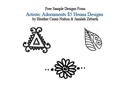 photograph regarding Printable Henna Designs referred to as Absolutely free Styles - Henna by way of Heather