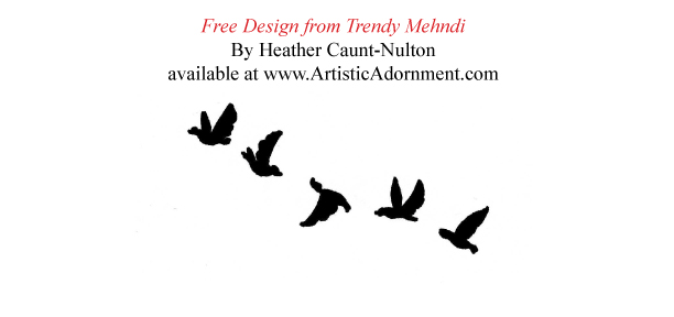 Popular Henna Bird Design for Festivals - Trendy Mehndi - ArtisticAdornment.com