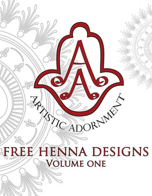 Artistic Adornment Free Henna Designs - Volume 1